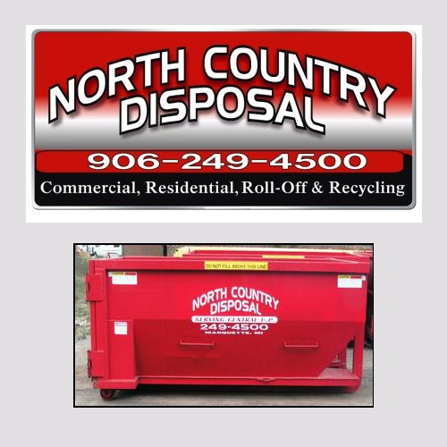North Country Disposal 30yd. Roll-Off Container