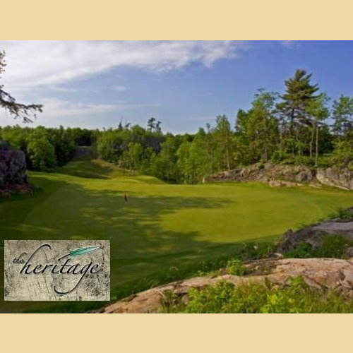 Save Big on 18 Holes of Golf on the Heritage Course!