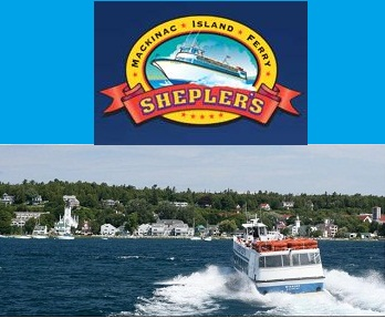 Visit Mackinac Island with Sheplers's Ferry!