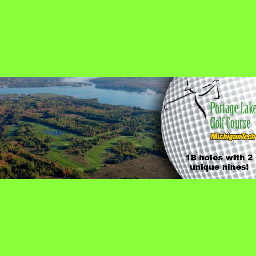 Portage Lake Golf Course - 18 Holes of Golf!