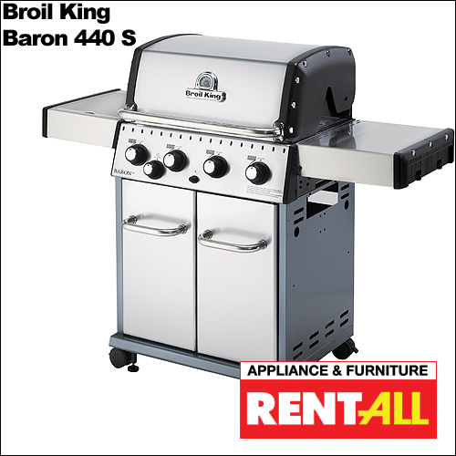 Broil King 'Baron 440 S Grill' from Appliance & Furniture Rent-All