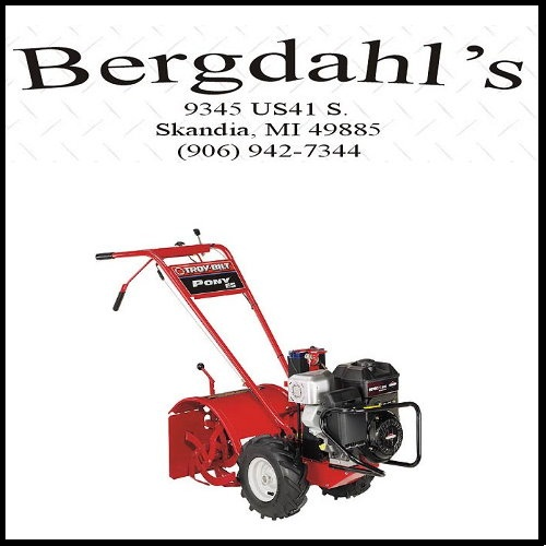 Troy Bilt Pony ES Tiller from Bergdahl's in Skandia