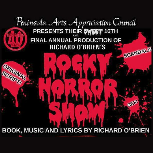 Midnight Showing Ticket- Rocky Horror Show