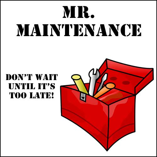 Mr Maintenance $50 Repair Certificate
