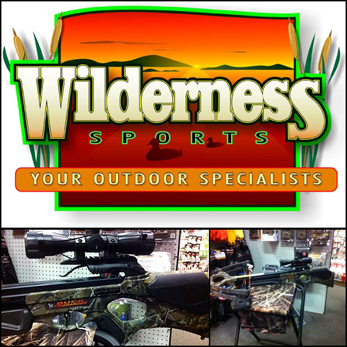 Check out the Barnett-'Buck Commander' Crossbow Package from Wilderness Sports in Ishpeming