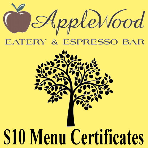 $10 Gift Certificate Food Items