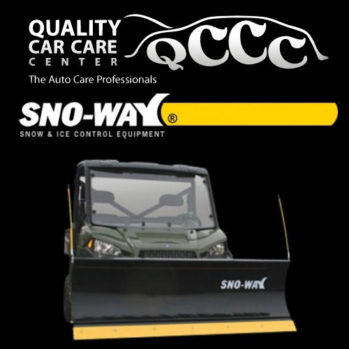 Sno-Way UTV Snow Plows-