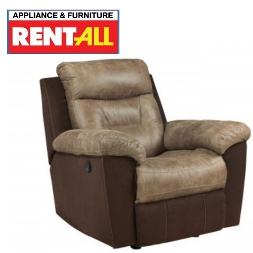 Ashley McLaurin Mocha Rocker Recliner