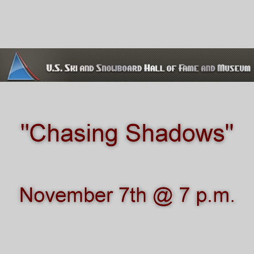 Chasing Shadows film showing