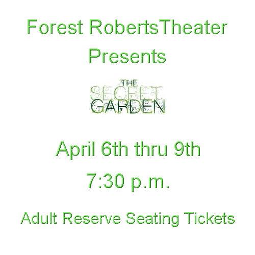 One Pair Tickets - The Secret Garden