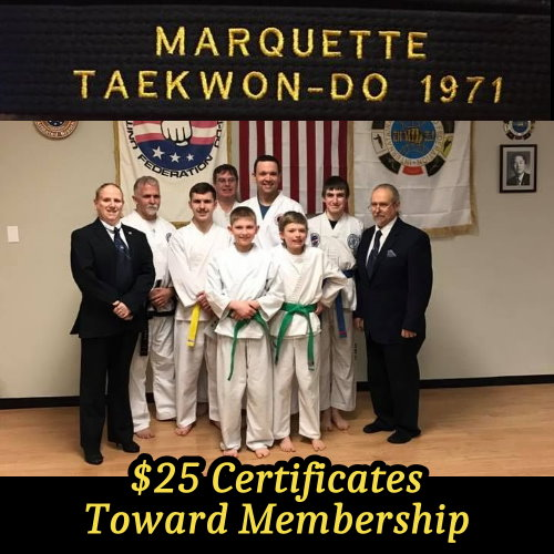 $25 Certificate Toward Membership