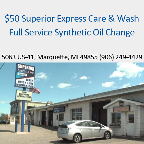 Full Service Synthetic Oil Change