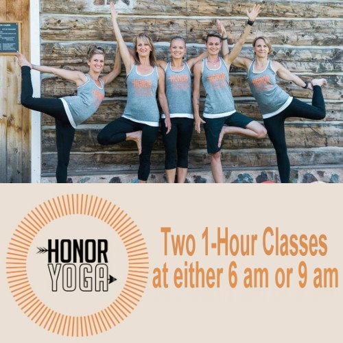 Two 1-Hour Yoga Classes