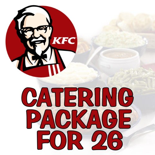 Catering Package for 26 People