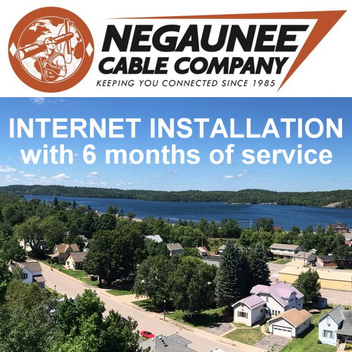 Internet Installation and 6 months of service