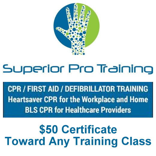 $50 Certificates Toward Any Training Class