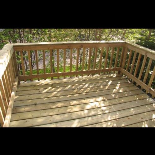 10x10ft Treated Deck