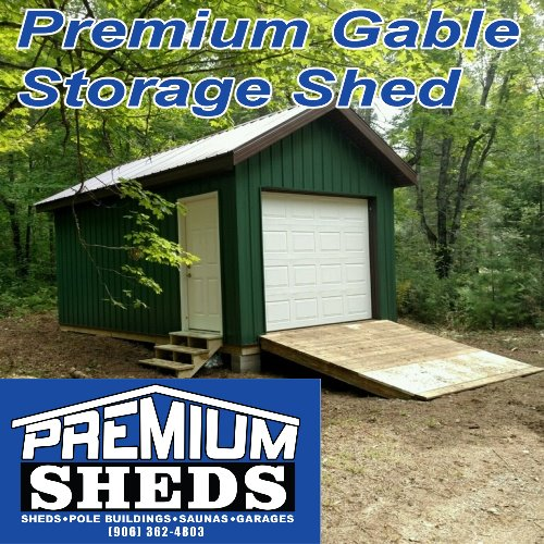 Premium Gable Storage Shed
