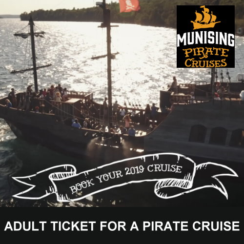1 Adult Ticket for a Pirate Cruise