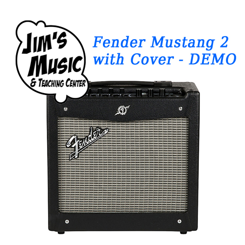 Fender Mustang 2 with Cover DEMO