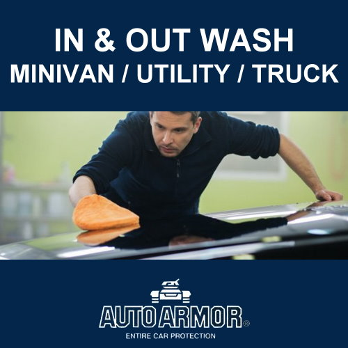 In & Out Wash - Minivan/Utility/Truck
