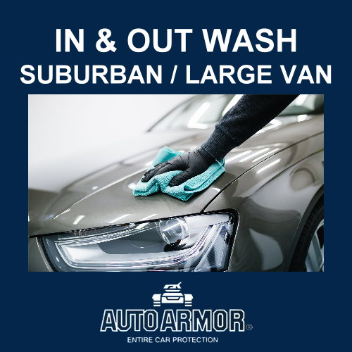 In & Out Wash - Suburban/Large Van