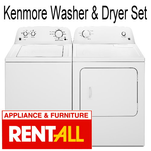 Kenmore Washer and Dryer Set - Electric