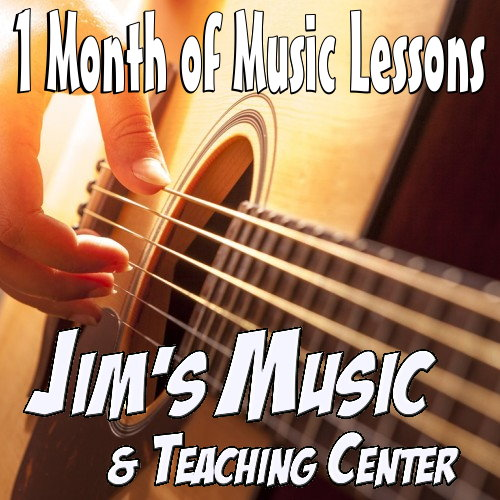 1 Month Music Lessons - Escanaba Only