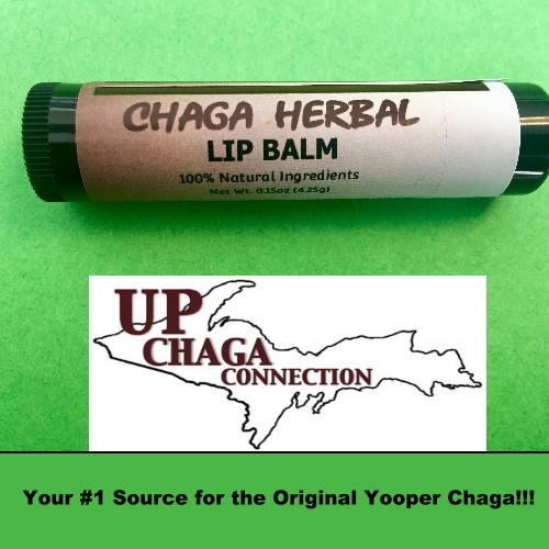 Chaga Herbal Lip Balm