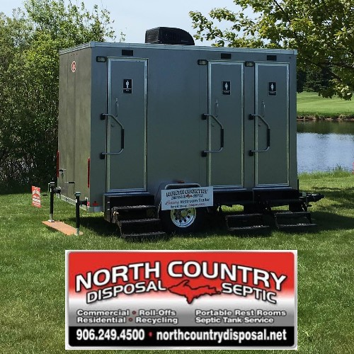 1 Luxury Restroom Trailer