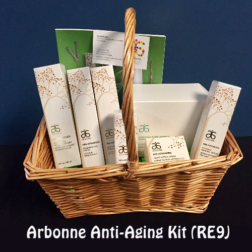 Full Arbonne Anti-Aging Kit (RE9)