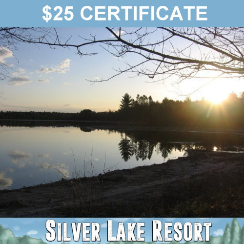 $25 Certificates Good at the Campground