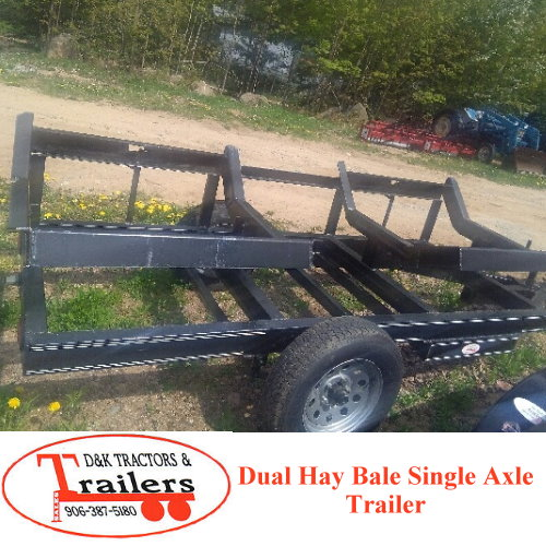 D And D Trailers >> Shopping Show D K Tractors Trailers Dual Hay Bale